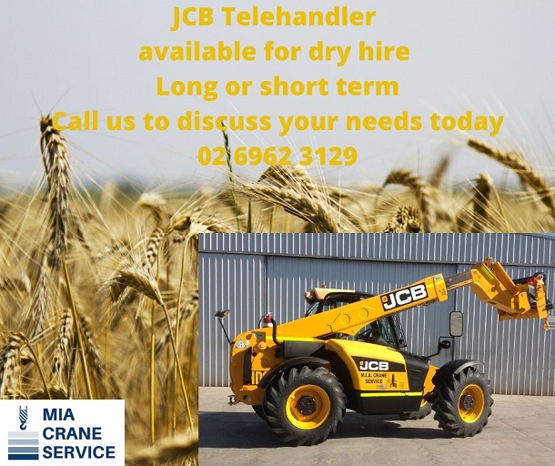 Telehandler dry hire